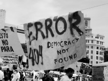 ERROR 404 – democracy not found