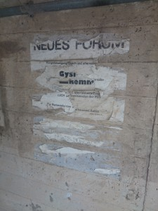 NEUES FORUM - Gysi kommt!